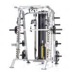 TuffStuff CSM-725WS Smith Machine / Half Cage Ensemble