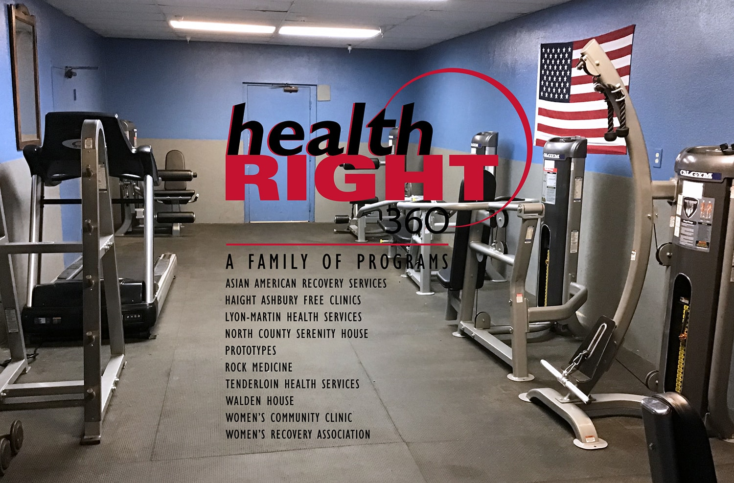 TuffStuff Fitness CalGym Equipment Donation to HealthRIGHT 360