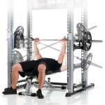 TuffStuff XPT-PRO Self-Spotting Power Cage - Barbell Movement