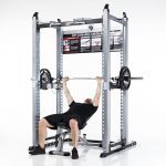 TuffStuff XPT-PRO Self-Spotting Power Cage - Bench Press